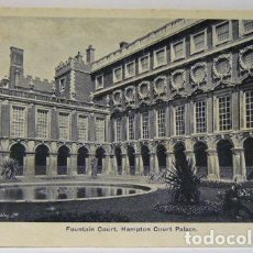 Postales: FOUNTAIN COURT HAMPTON COURT PALACE. Lote 147340794