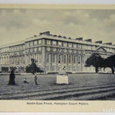 Postales: SOUTH-EAST FRONT HAMPTON COURT PALACE. Lote 147341022