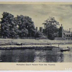 Postales: HAMPTON COURT PALACE FROM THE THAMES. Lote 147343198