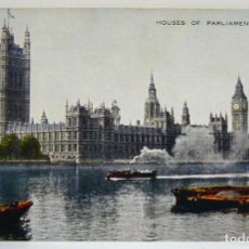 Postales: HOUSES OF PARLIAMENT LONDON. Lote 147351690