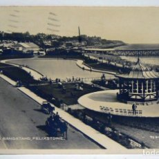 Postales: PIER AND BANDSTAND FELIXSTOWE 1930. Lote 147361718