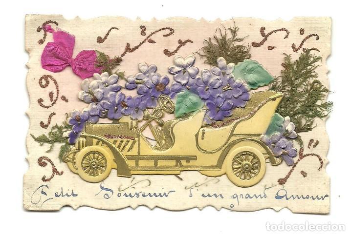 PRECIOSA POSTAL EN RELIEVE AÑO 1916 (Postales - Postales Extranjero - Europa)