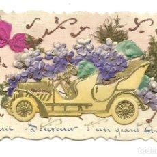 Postales: PRECIOSA POSTAL EN RELIEVE AÑO 1916. Lote 147379594
