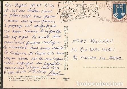 francia & saint-jean-de-luz, vista general del - Buy Old Postcards ...