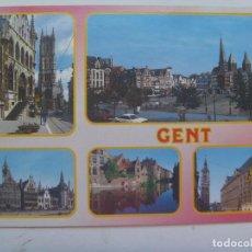 Postales: POSTAL DE GENT ( BELGICA ) : VISTAS. Lote 147534886