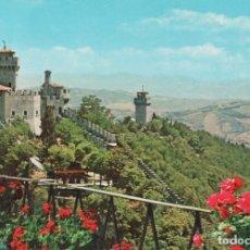 Postales: 3 POSTALES DE ITALIA REPUBLICA SAN MARINO CON SELLOS NUEVOS SIN CIRCULAR. AÑOS 70. Lote 147586550
