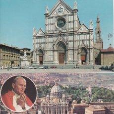 Postales: 5 POSTALES DE ITALIA SIN CIRCULAR. AÑOS 78 DE TIVOLI, FLORENCIA, ROMA, EL VATICANO,. Lote 147587394