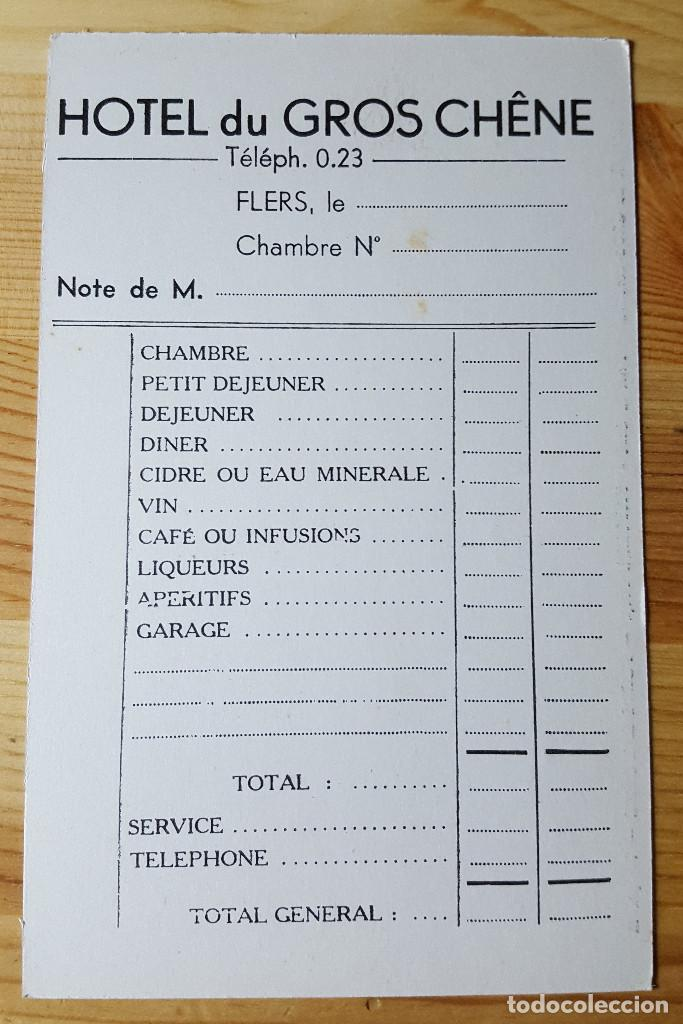 Postales: Hotel du Gro Chene Face La Gare Fautrel Prop. Flers de L´Orne - Foto 2 - 147795474