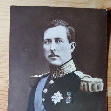 Postales: MS.M. ALBERT I. ROI DES BELGES DECORE DE LA MEDAILLE MILITAIRE. Lote 147795802