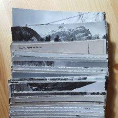 Postales: LOTE DE 100 POSTALES DE SUIZA BLANCO Y NEGRO ANTIGUAS. Lote 148118654