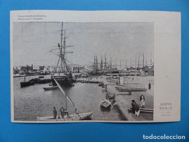 Postales: EGIPTO - 22 POSTALES DIFERENTES - AÑOS 1920-30 - Foto 4 - 148748178