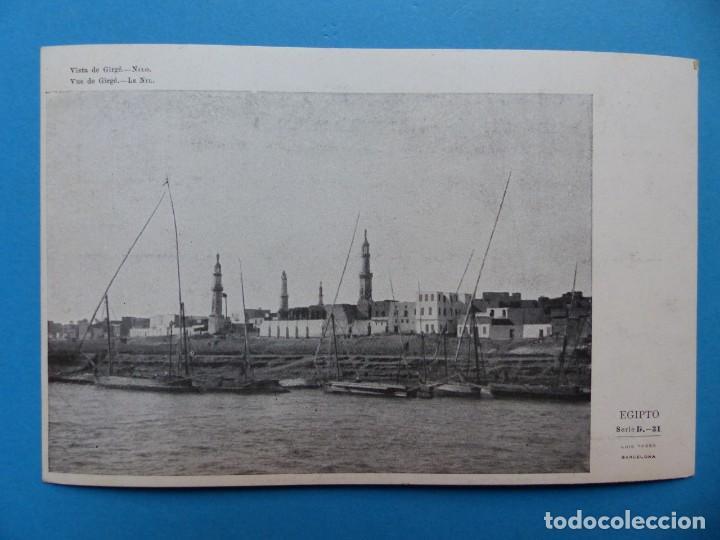 Postales: EGIPTO - 22 POSTALES DIFERENTES - AÑOS 1920-30 - Foto 23 - 148748178