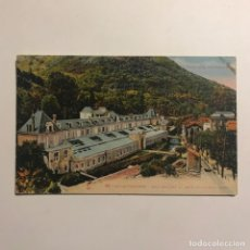 Postales: AIX LES THERMES. ÉTABLISSEMENT DU TEICH ET L'AVENUE TURREL. FRANCIA. Lote 149275646