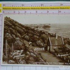 Postales: POSTAL DE INGLATERRA. FECHADA AÑO 1929. FOLKESTONE, LOWER ROAD AND TOLL GATE. 2254. Lote 149527998