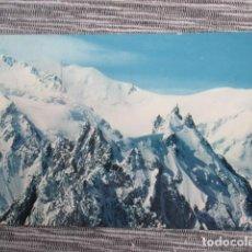 Postales: 6163 FRANCIA FRANCE HAUTE SAVOIE CHAMONIX-MONT-BLANC L'AIGUILLE DU MIDI 1979. Lote 149539778