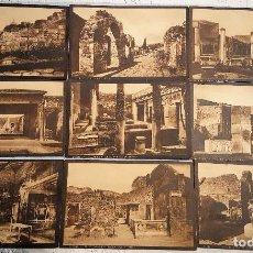 Postales: COLECCION 17 POSTALES DE POMPEI LOTE POMPEYA - RR. SCAVI DI POMPEI ED. P. BECCARINI. Lote 149909242