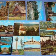 Postales: L3 - LOTE DE 100 POSTALES EXTRANJERAS - VER FOTOS. Lote 150114190