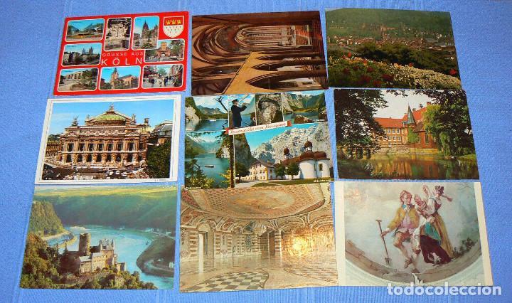Postales: L4 - Lote de 100 postales extranjeras - ver fotos - Foto 5 - 150114474