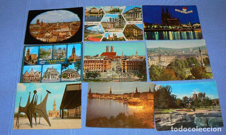 Postales: L4 - Lote de 100 postales extranjeras - ver fotos - Foto 8 - 150114474