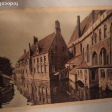 Postales: BRUGES ST JOHN'S HOSPITAL MUSEO DE BRUJAS BÉLGICA POSTAL 1964. Lote 150169474