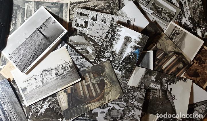 LOTE DE 100 POSTALES DE ALEMANIA BLANCO Y NEGRO ANTIGUAS AÑOS 50/60/70 (Postales - Postales Extranjero - Europa)