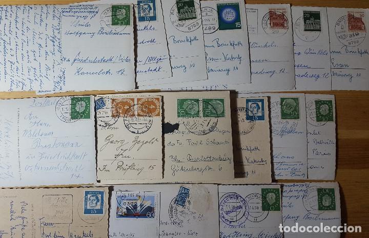 Postales: Lote de 100 postales de Alemania blanco y negro antiguas años 50/60/70 - Foto 2 - 150178630