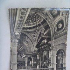 Postales: POSTAL DE TURIN ( ITALIA ) : BASILICA DE MARIA AUXILIADORA, LA TRIBUNA DESDE ALTAR MAYOR. AÑOS 50. Lote 150314590