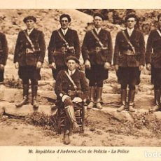 Postales: REPUBLICA D´ANDORRA .- COS DE POLICIA. Lote 150353894