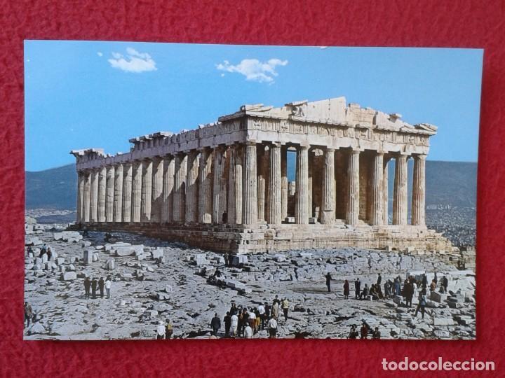 POSTAL POST CARD CARTE POSTALE GRECIA GREECE ATENAS ATHENS ATHEN ATHÉNES LE THE DER PARTHENON HELLAS (Postales - Postales Extranjero - Europa)