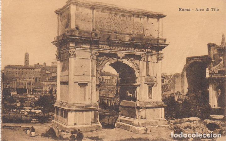 ROMA, ARCO DI TITO, ITALIA (Postales - Postales Extranjero - Europa)