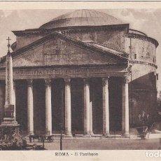 Postales: ROMA, IL PANTHEON, ITALIA. Lote 150946066