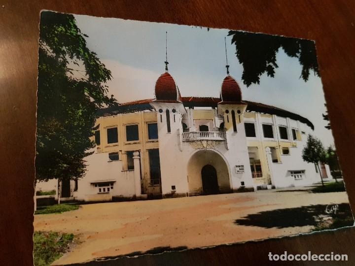 ANTIGUA POSTAL PLAZA DE TOROS DAX FRANCIA (Postcards - International - Europe)