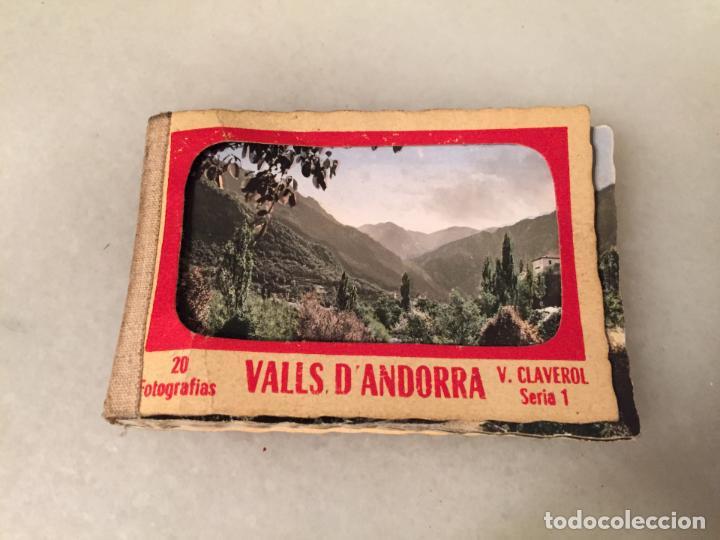 ANTIGUAS 18 FOTO / FOTOGRAFIAS DE VALLS D'ANDORRA POR V. CLAVEROL AÑOS 20-30 (Postales - Postales Extranjero - Europa)