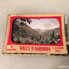 Postales: ANTIGUAS 18 FOTO / FOTOGRAFIAS DE VALLS D'ANDORRA POR V. CLAVEROL AÑOS 20-30. Lote 151030862