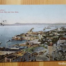 Postales: GIBRALTAR ROSIA BAY AND NEW MOLE 1909 BEANLAND MALIN & CO. Lote 151166698