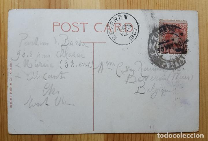 Postales: Gibraltar Rosia Bay and New Mole 1909 Beanland Malin & Co - Foto 2 - 151166698