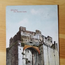 Postales: GIBRALTAR THE MOORISH CASTLE 1909 BEANLAND MALIN & CO. Lote 151166862