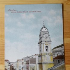 Postales: GIBRALTAR ROMAN CATHOLIC CHURCH AND MAIN STREET ED. BEANLAND MALIN & CO. Lote 151171362