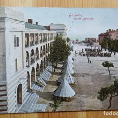Postales: GIBRALTAR SOUTH BARRACKS 1909 ED. BEANLAND MALIN & CO. Lote 151171410