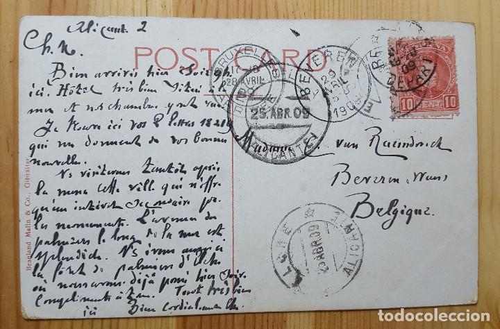 Postales: Gibraltar South Barracks 1909 Ed. Beanland Malin & Co - Foto 2 - 151171410