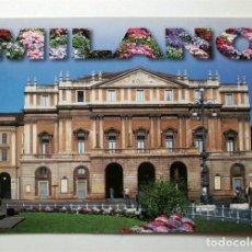 Postales: TEATRO ALLA SCALA DE MILÁN (MILANO) ITALIA. SIN CIRCULAR. Lote 151451318
