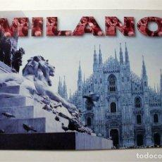 Postales: POSTAL TAMAÑO FOLIO. IL DUOMO DE MILANO. CATEDRAL DE MILÁN (ITALIA) SIN CIRCULAR . Lote 151452018