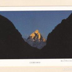 Postales: POSTAL MONTE CERVINO (SUIZA - ITALIA). Lote 151456638