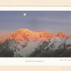 Postales: POSTAL MONTE BIANCO. MONT BLANC (FRANCIA - ITALIA). Lote 151456810