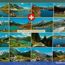 Postales: LMV - POSTAL, SCHWEIZERPÄSSE, SUIZA. 14'50X10'50 CM. Lote 151480310