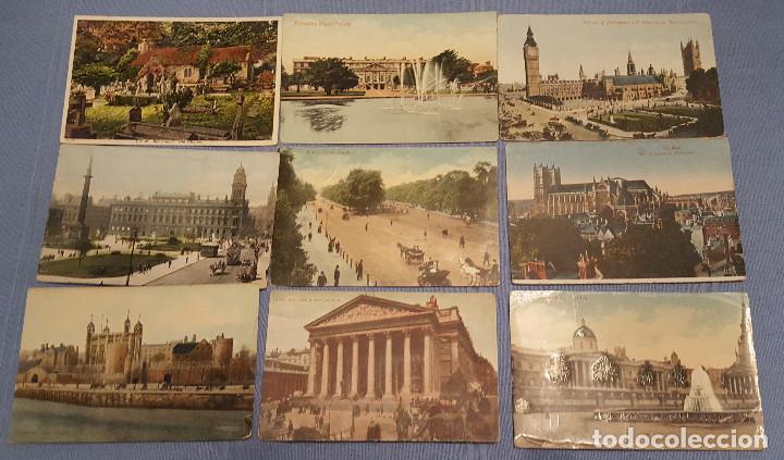 LOTE DE 100 POSTALES DE INGLATERRA VARIAS DECADAS - VER FOTOS (Postales - Postales Extranjero - Europa)