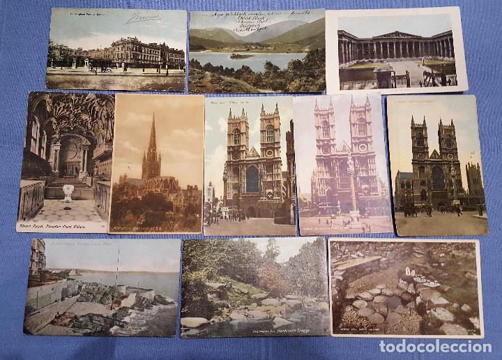 Postales: Lote de 100 postales de Inglaterra varias decadas - ver fotos - Foto 2 - 151544374