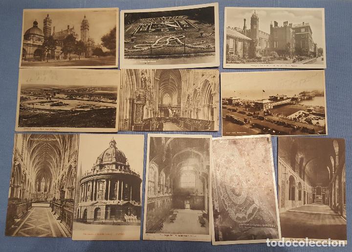 Postales: Lote de 100 postales de Inglaterra varias decadas - ver fotos - Foto 4 - 151544374