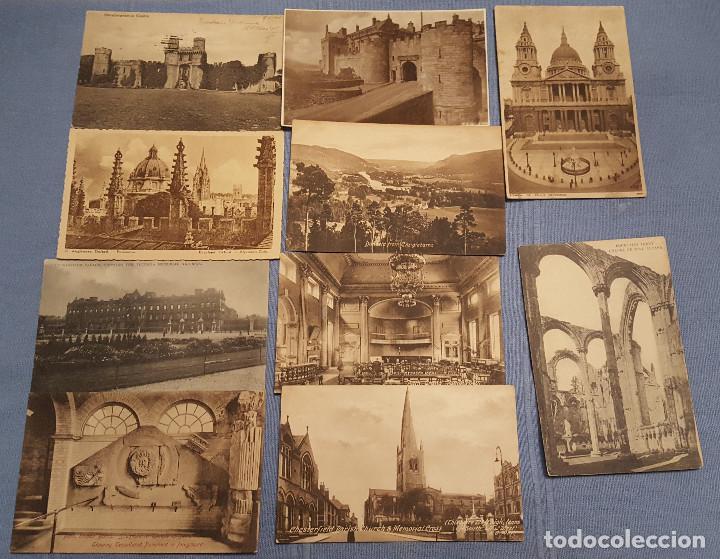 Postales: Lote de 100 postales de Inglaterra varias decadas - ver fotos - Foto 5 - 151544374