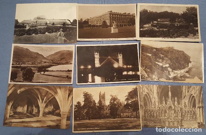 Postales: Lote de 100 postales de Inglaterra varias decadas - ver fotos - Foto 6 - 151544374